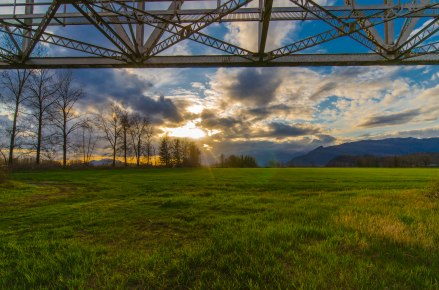 Under the Agassiz Bridge