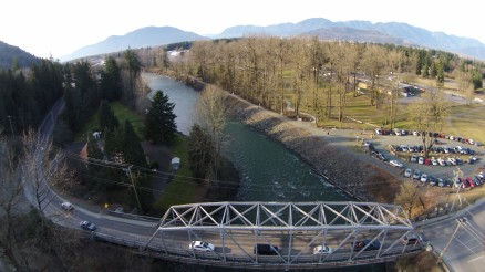 Old Vedder Bridge from DJI Drone