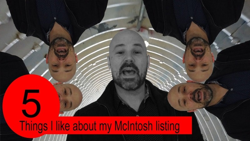 5 things I like about my listing on McIntosh.